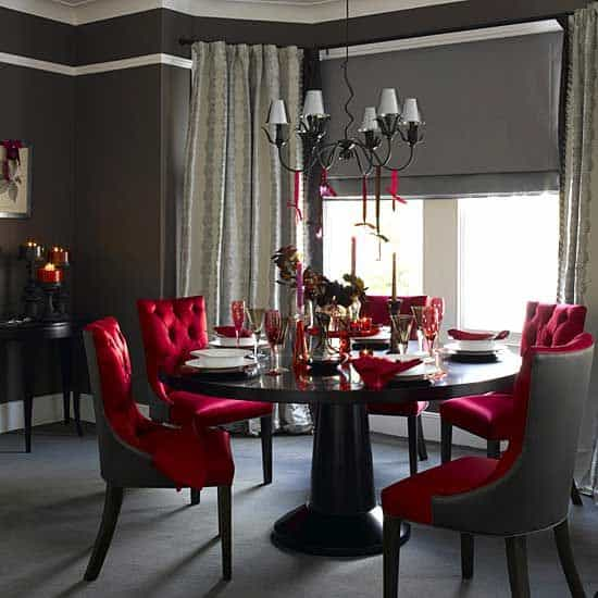 Dining Room Design Ideas Gothic
