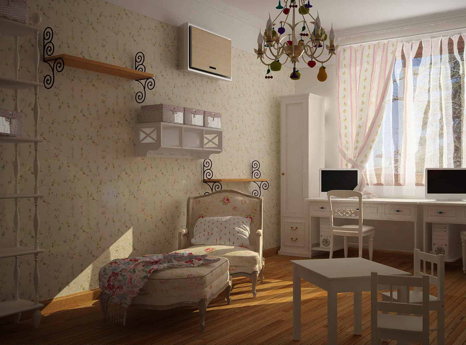 Kids room ideas french country decor house interior for French country house interior