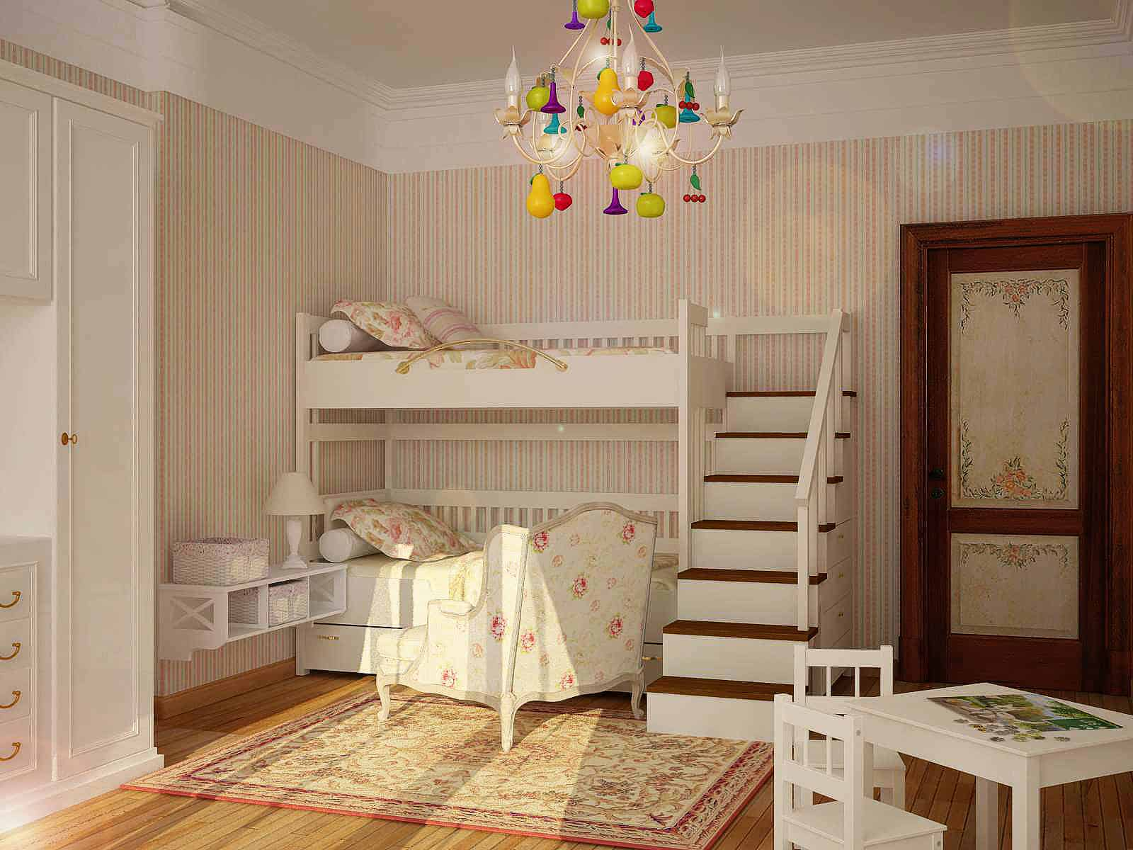 Children S And Kids Room Ideas Designs Inspiration: Kids Room Ideas: French Country Decor