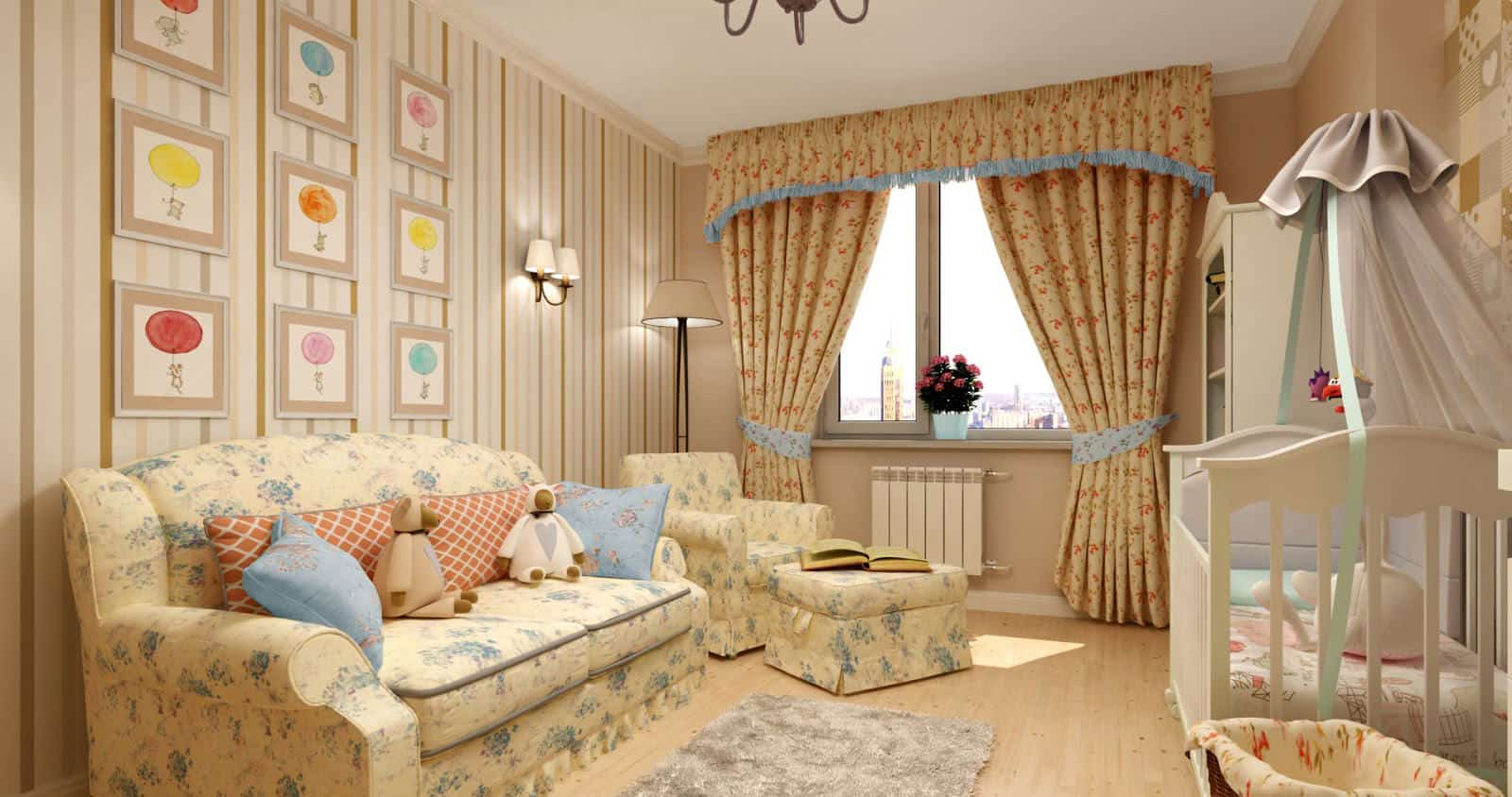 Kids-room-ideas-French-country-decor-Provence-decor-kids-room-decor