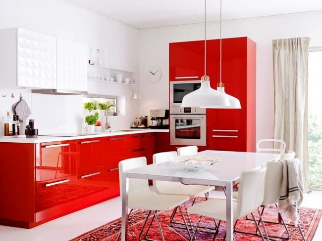 Kitchen Design Ideas Red Kitchen