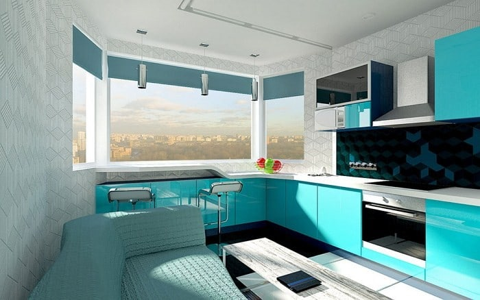 Kitchen-design-ideas-Turquoise-kitchen-kitchen-decor-modern-kitchen-design