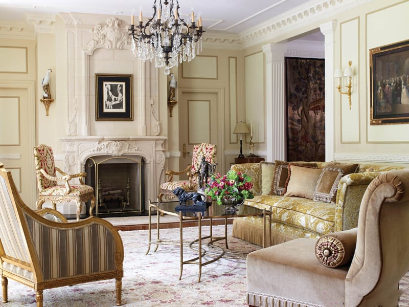Living room design ideas venetian living room house for Venetian interior design ideas for your home