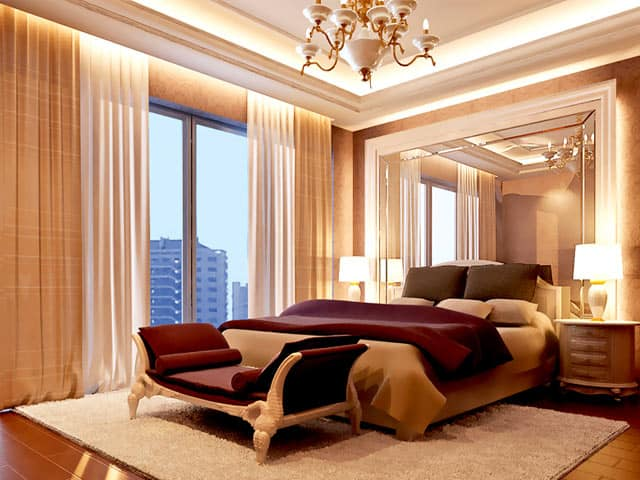 Living room design ideas venetian living room for Downlight design living room