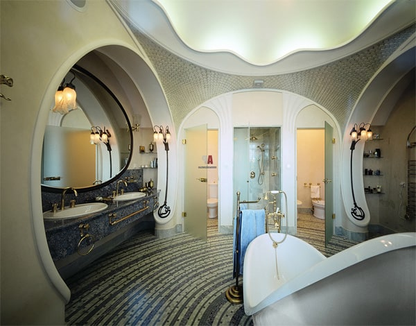 Modern bathroom design art nouveau bathroom for Home decor interiors bathroom