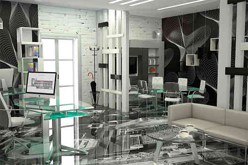 Office-design-ideas-High-tech-office-office-decor