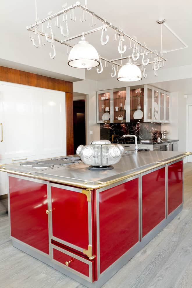 Designer Kitchen Decorating Ideas ~ Kitchen design ideas red