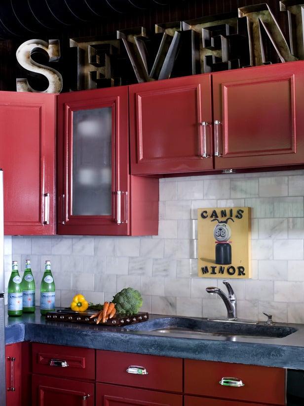 Kitchen Design Ideas Red