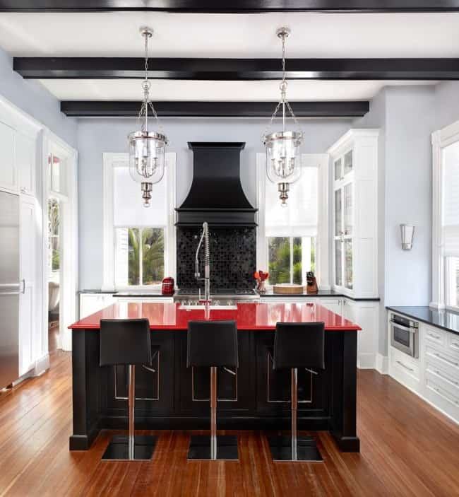 Kitchen Design Ideas Red Kitchen