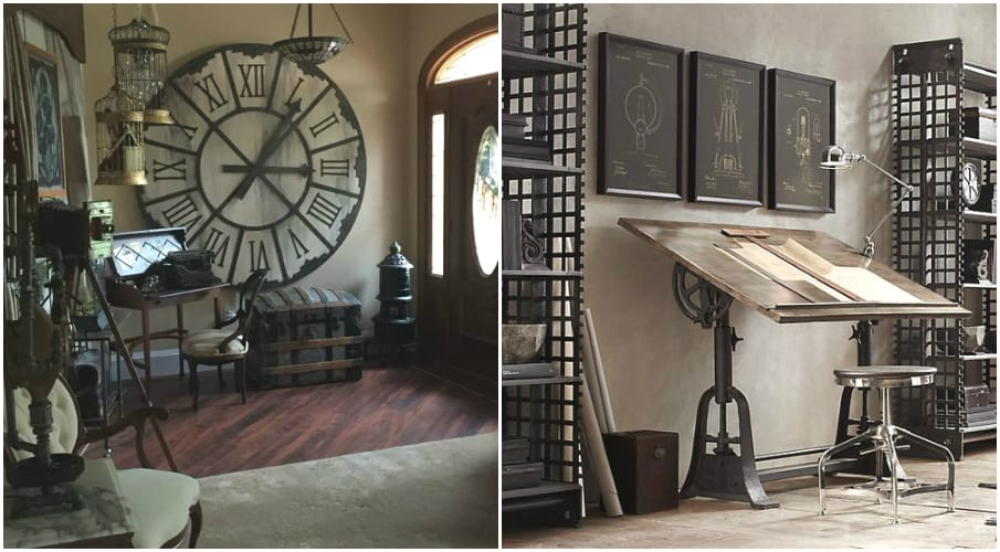 Room Decor For Teens Steampunk Bedroom on Gothic Bedroom Interior Design Ideas
