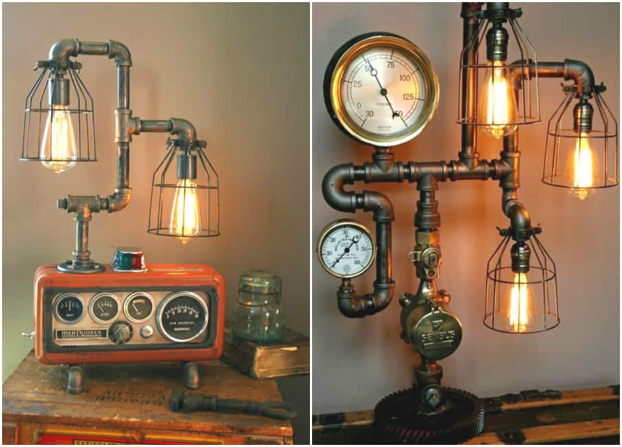 Room decor for teens steampunk bedroom Steampunk home ideas