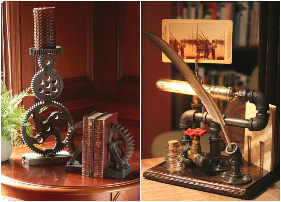 Room decor for teens steampunk bedroom house interior Steampunk home ideas