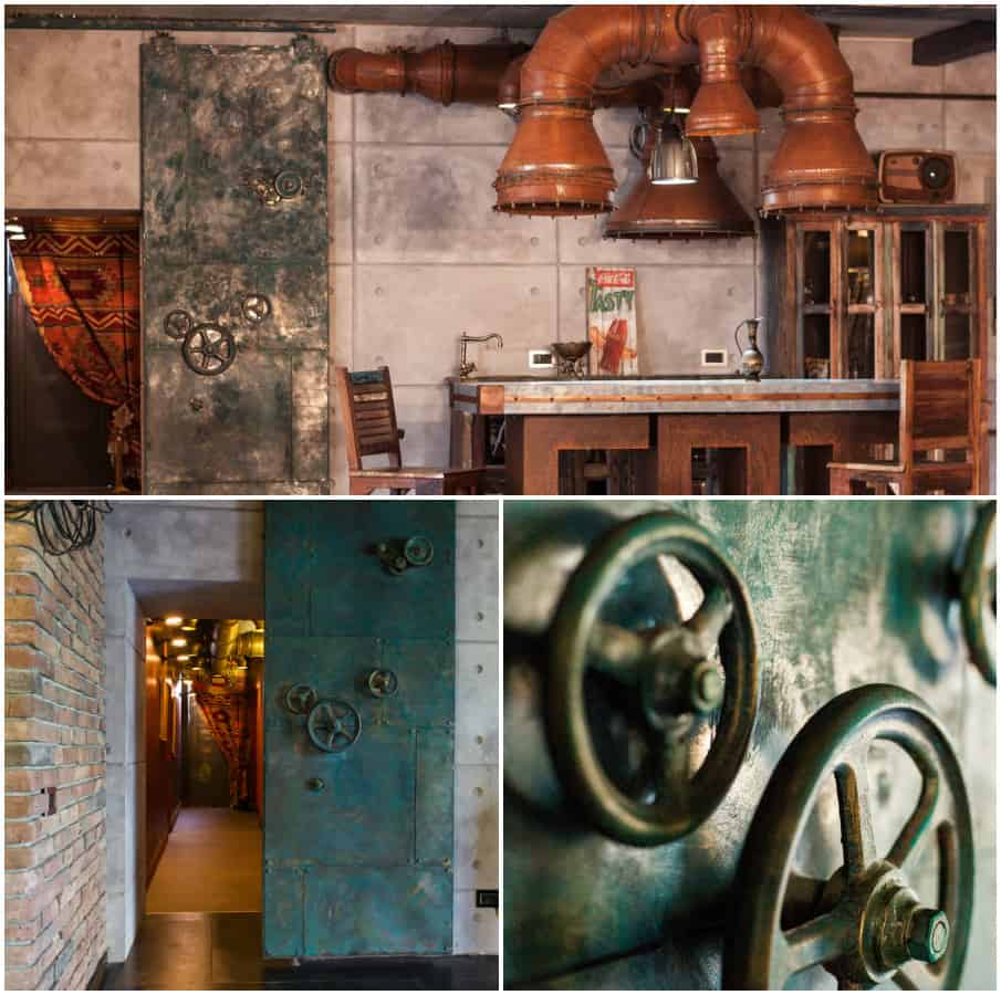 Room decor for teens steampunk bedroom for Decorative items for home with waste material