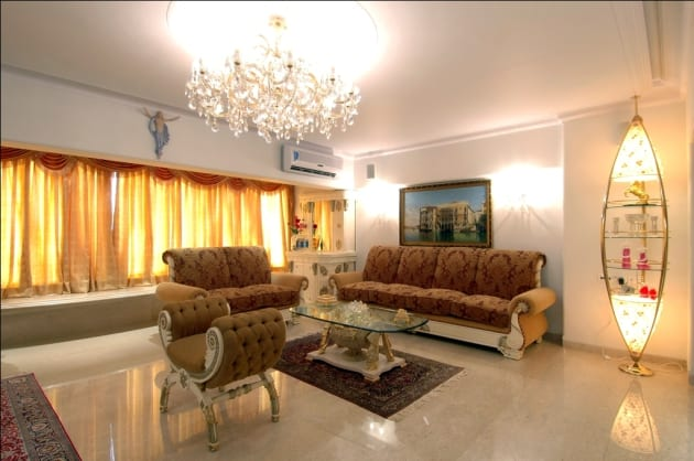 Living Room Design Ideas Baroque Living Room