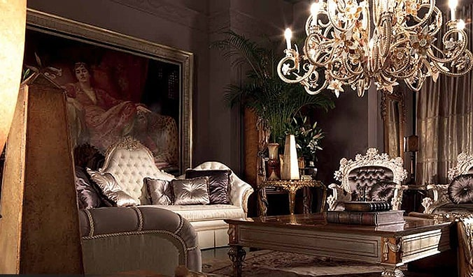 Baroque Living Room Design Ideas