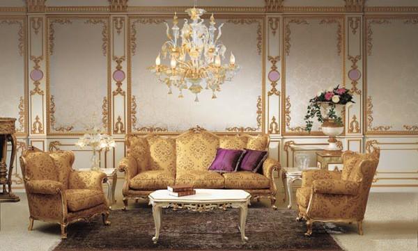 Living room design ideas Baroque living room