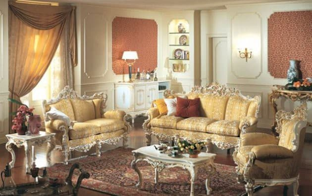 Living Room Design Ideas Baroque