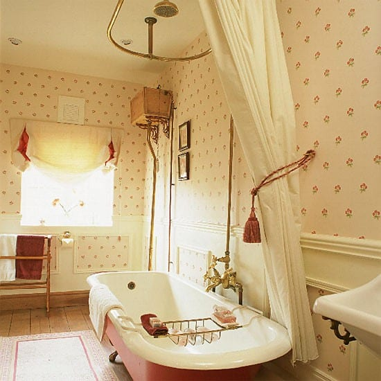 French Country Bathroom Flooring: Bathroom Design Ideas: French Bathroom Decor