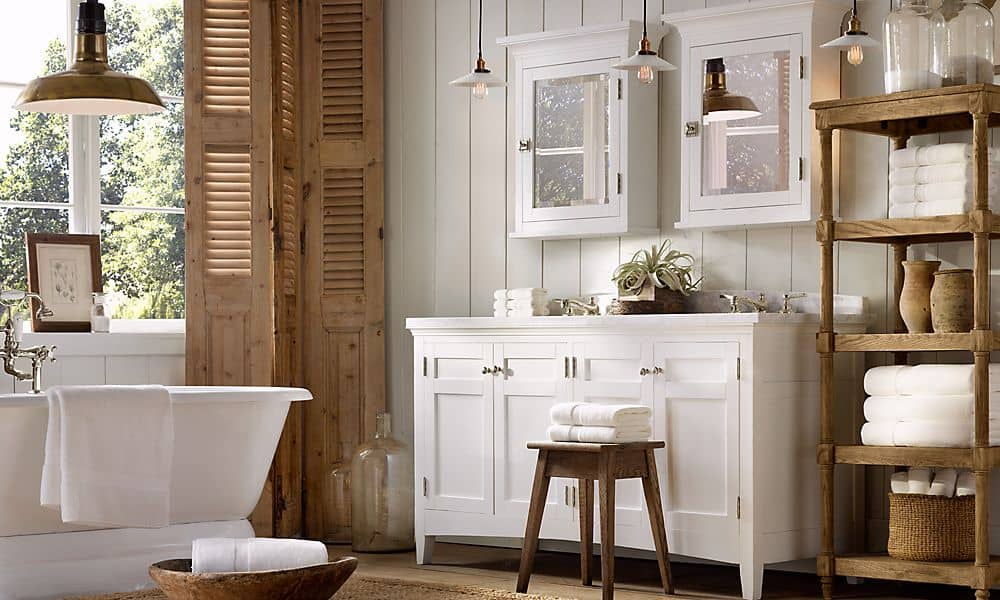 Bathroom design ideas french bathroom decor for Country bathroom design ideas
