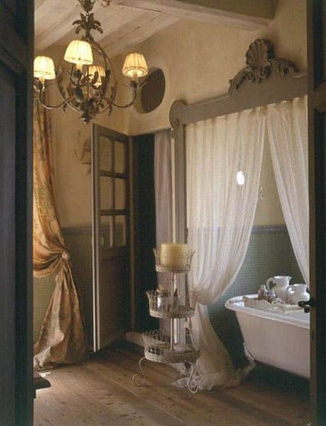 Bathroom design ideas french bathroom decor house interior for Country style bathroom ideas