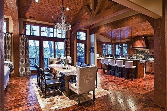 Decorating-trends-2017-Rustic-dining-room-modern-dining-room-interior-design-2017-Rustic-decor