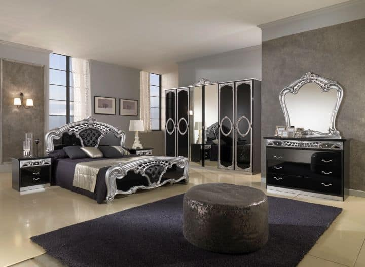 Bedroom decor ideas gothic bedroom for Modern romantic interior design