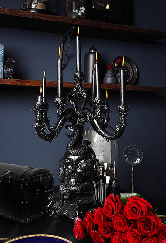 Bedroom decor ideas gothic bedroom for Modern design accessories
