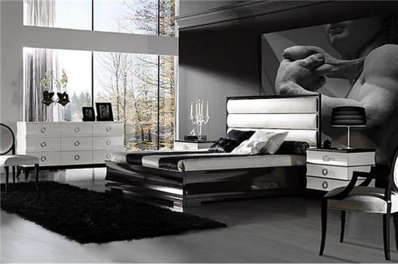 decorating modern ideas for bedrooms - Black Bedroom Furniture Decorating Ideas