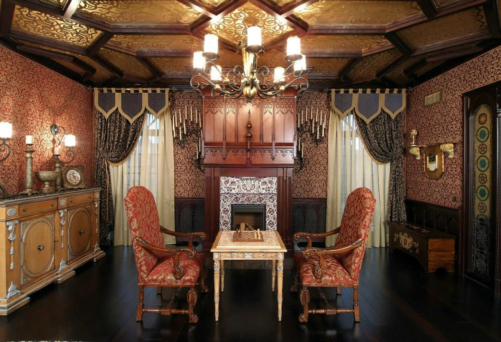 Interior design trends 2017 gothic living room house interior - Room house design ...