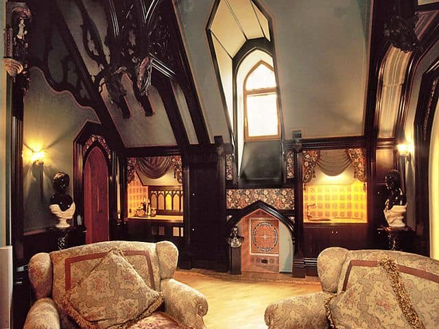 gothic living room decor. Black Bedroom Furniture Sets. Home Design Ideas
