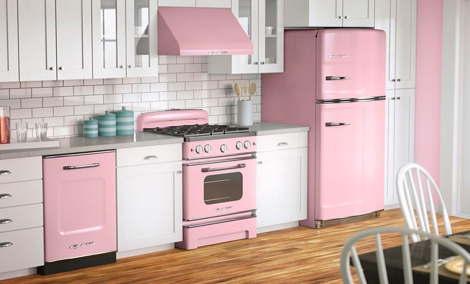 Interior-design-trends-2017-Pink-kitchen-modern-kitchen-design-kitchen-decor-ideas