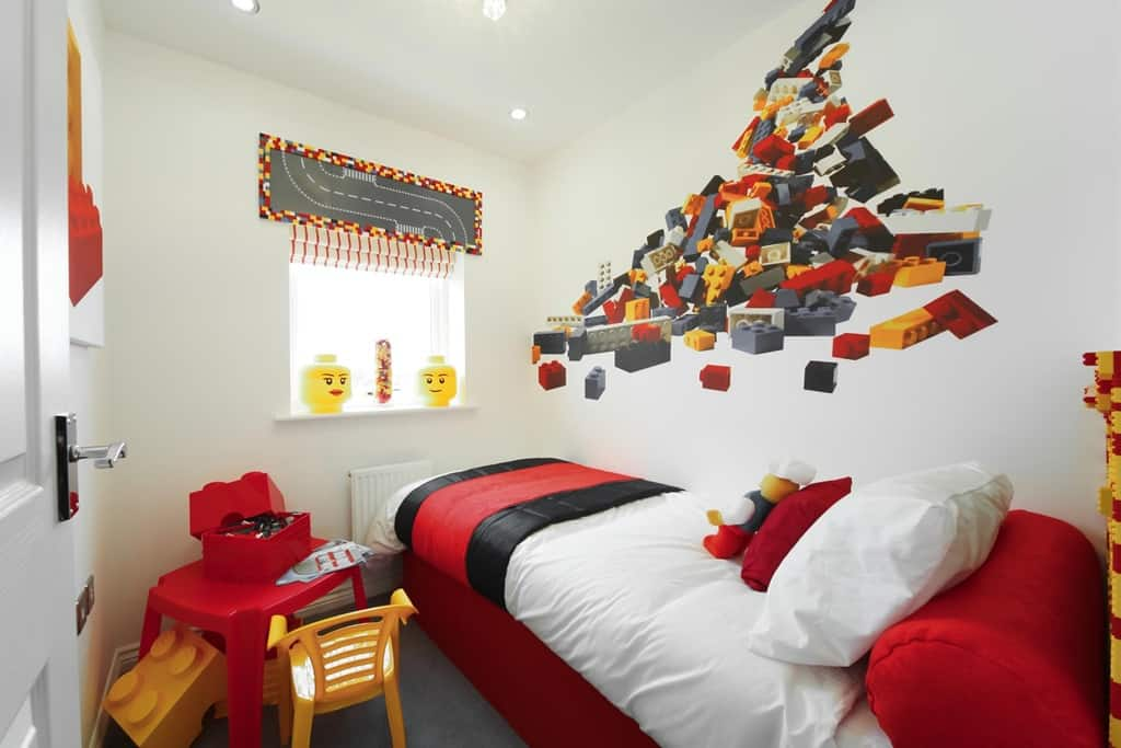 Kids Room Ideas Lego Decor