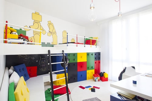 Kids room ideas lego room decor for Decoration lego