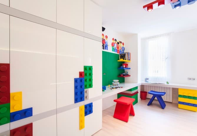 Room 2 Build Bedroom Kids Lego: Kids Room Ideas: Lego Room Decor