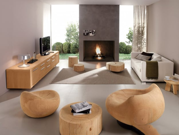 Living Room Design Ideas: Eco Style