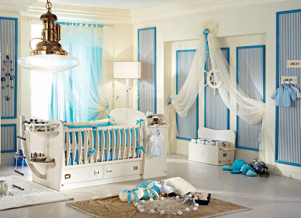 Home decor trends 2017 nautical kids room house interior - Luxus kinderzimmer jungen ...
