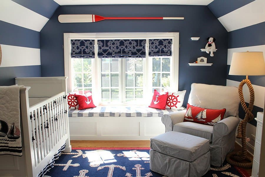 Home decor trends 2017 nautical kids room Home fashion furniture trends
