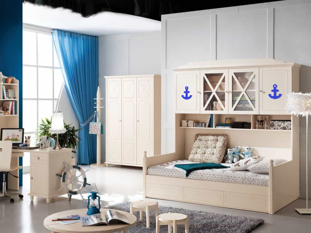 Home decor trends 2017 nautical kids room house interior for Room design themes