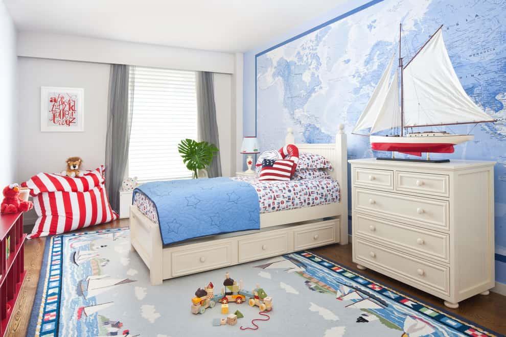 Home decor trends 2017 nautical kids room house interior for Interior design bedroom ideas 2017
