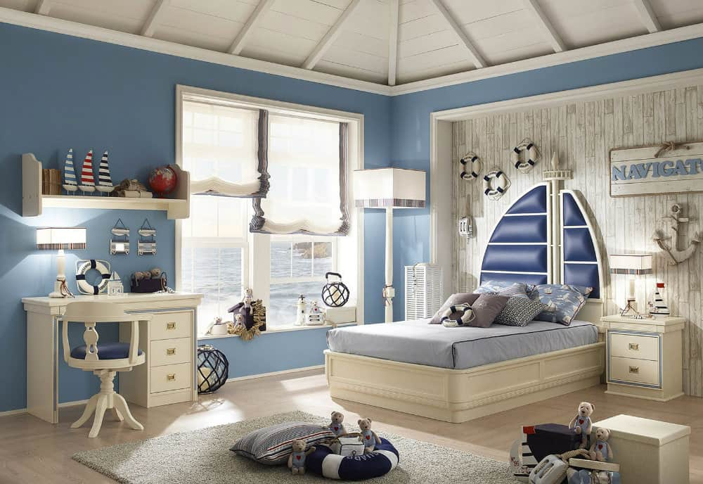 Home decor trends 2017 nautical kids room house interior for Home design and decor