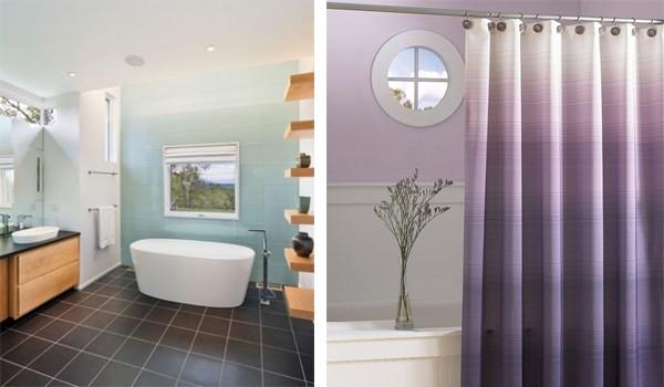 Interior Design 2017 Ombre Bathroom