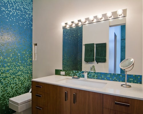 Bathroom Interior Design Tips And Ideas ~ Interior design ombre bathroom