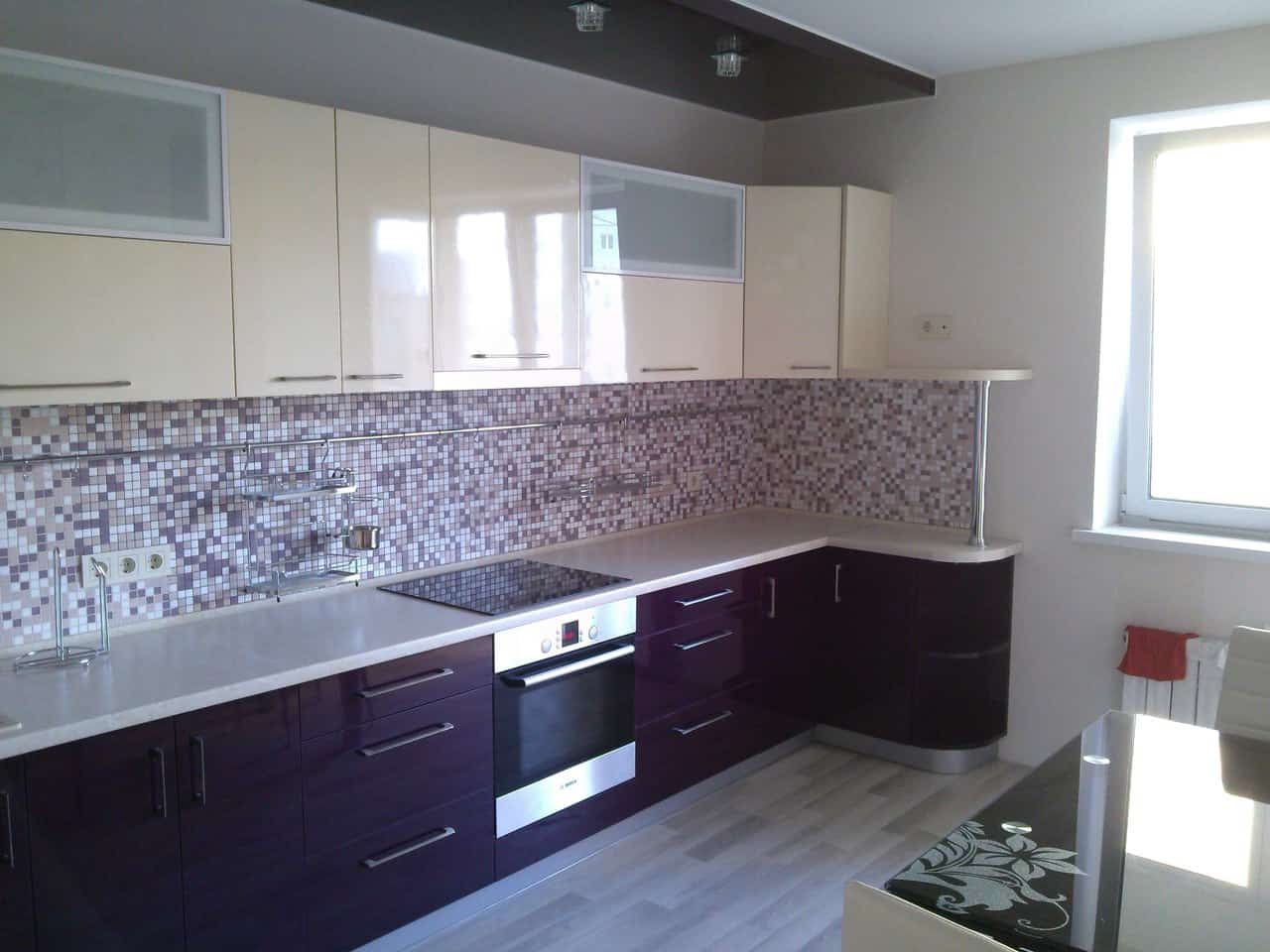 Designer Kitchen Decorating Ideas ~ Interior design trends purple kitchen