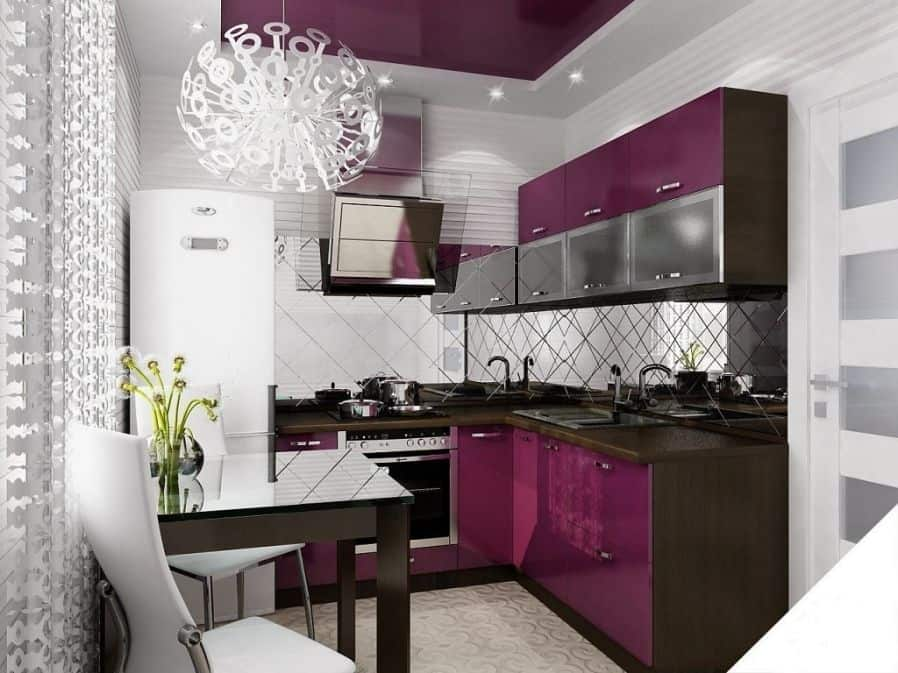 interior design trends 2017 purple kitchen house interior. Black Bedroom Furniture Sets. Home Design Ideas