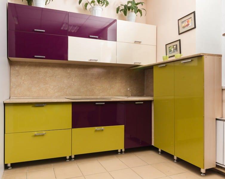 Modern Kitchen Design Ideas 2017 ~ Interior design trends purple kitchen