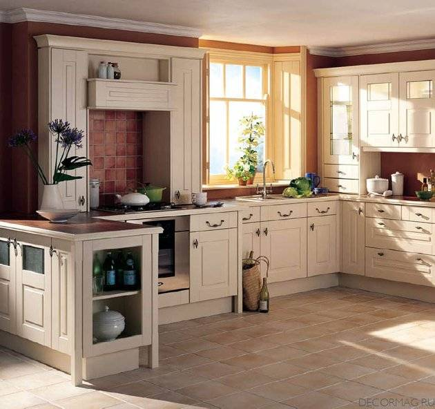 Kitchen design ideas retro kitchen for Old country style kitchen ideas