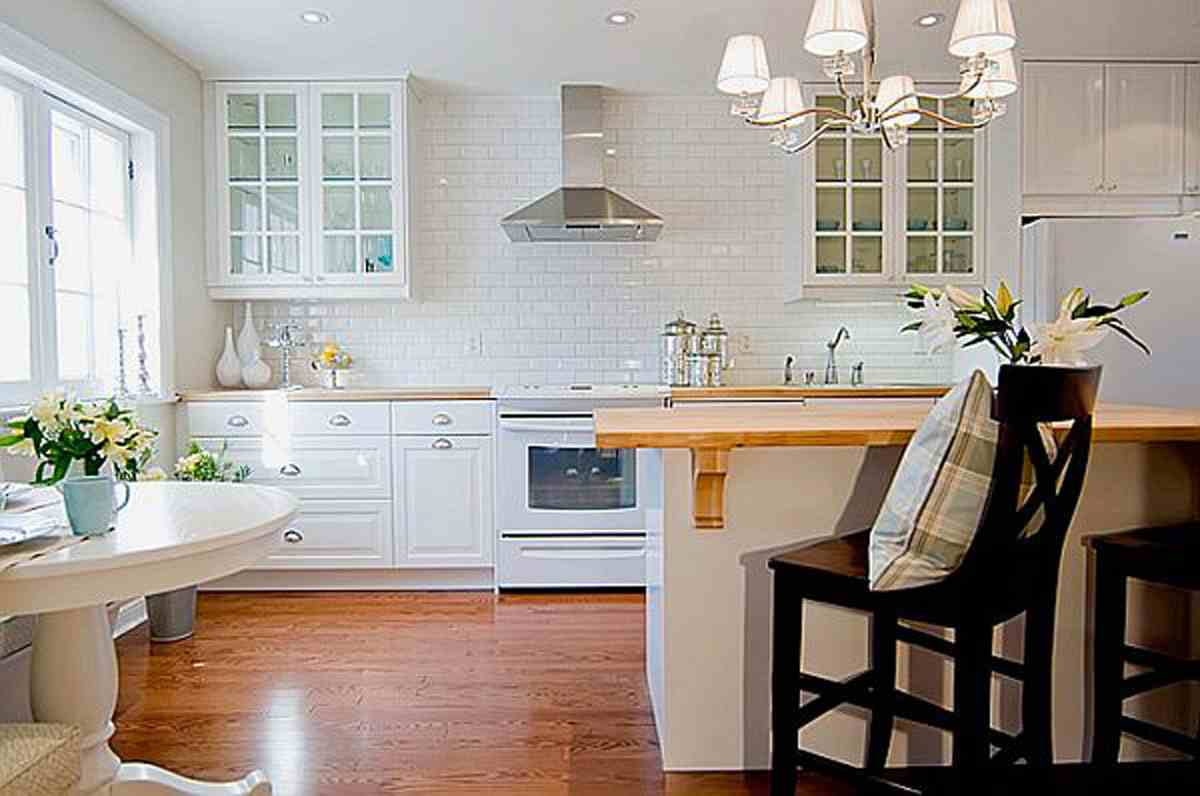 Kitchen design ideas retro kitchen for Kitchen decoration photos