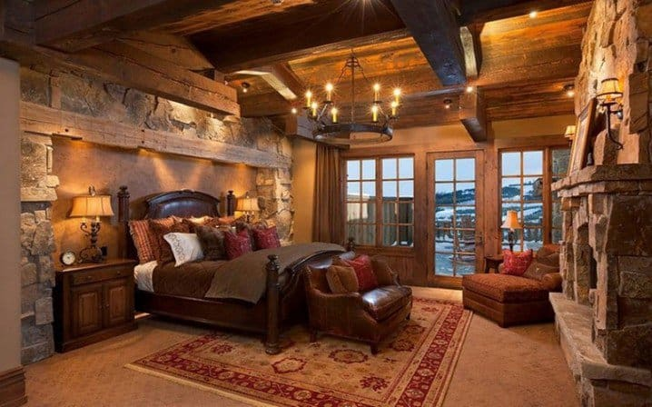 Home decor trends 2017 rustic bedroom - Interior home decorator ...