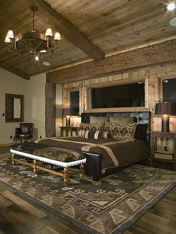 Rustic Modern Bedroom Ideas Wood Feature Walls On Feature: Home Decor Trends 2017: Rustic Bedroom