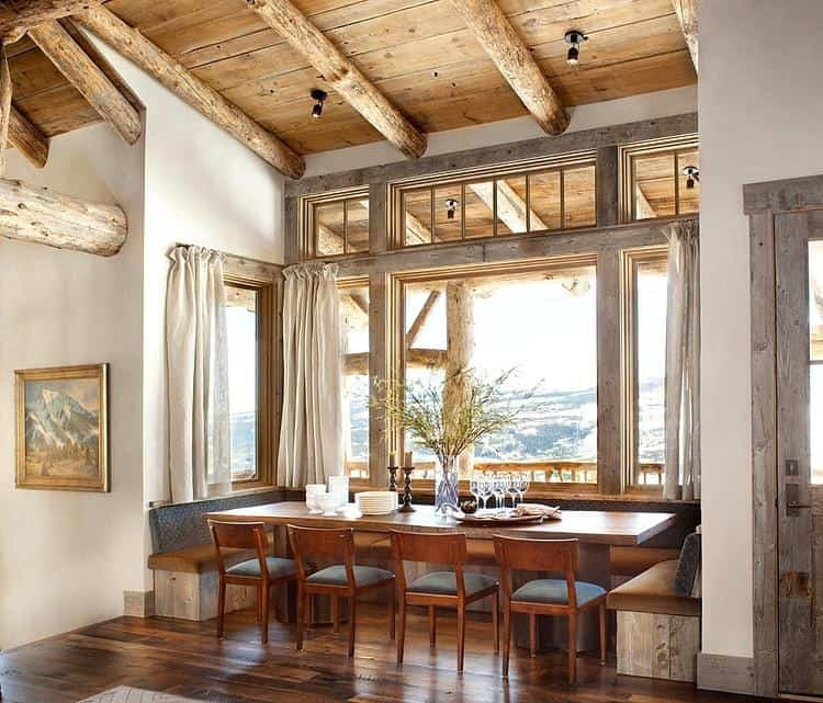 Dining room ideas rustic dining room house interior for Rustic dining room designs